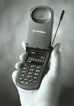 When introduced in 1996, Motorola's StarTAC wearable cellular telephone was the world's smallest and lightest. It weighed just 88 grams.