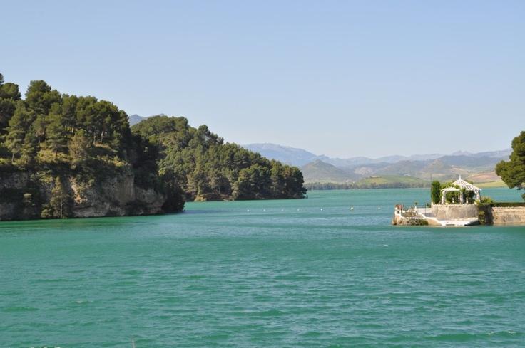 Pantano del Conde del Guadalhorce. Málaga #Andalucia