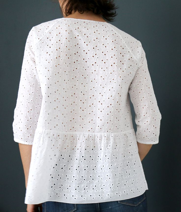 1 heure 1 fringue : Blouse Stockholm | Atelier Scammit