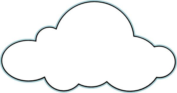 Clip Art Clouds Cloud Outline