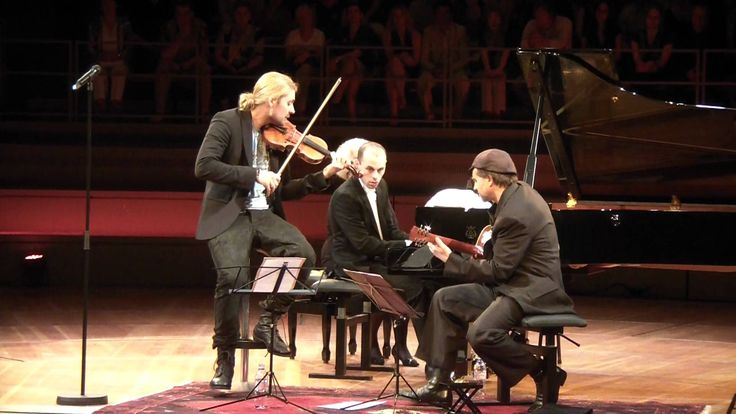 "David Garrett - Julien Quentin - Marcus Wolf perform ""He's a Pirate"" as an encore of a classical concert in the Philharmonie Berlin. http://www.david-garrett..."