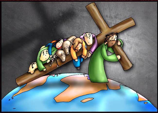 Resultado de imagen para II Estación: Jesús carga con la cruz