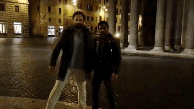 Kanye West approves of Aziz Ansari's makeshift Famous music video