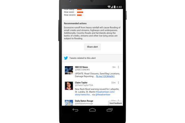 Google e Twitter unem-se para prevenir desastres naturais