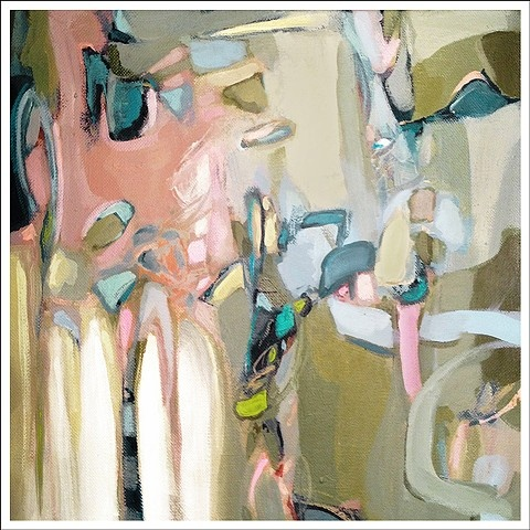 Abstract painting by Christina Baker - available via Artsy Forager!!