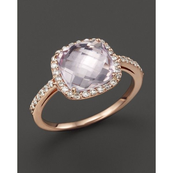 37 best Engagement Rings images on Pinterest Rose gold Amethyst