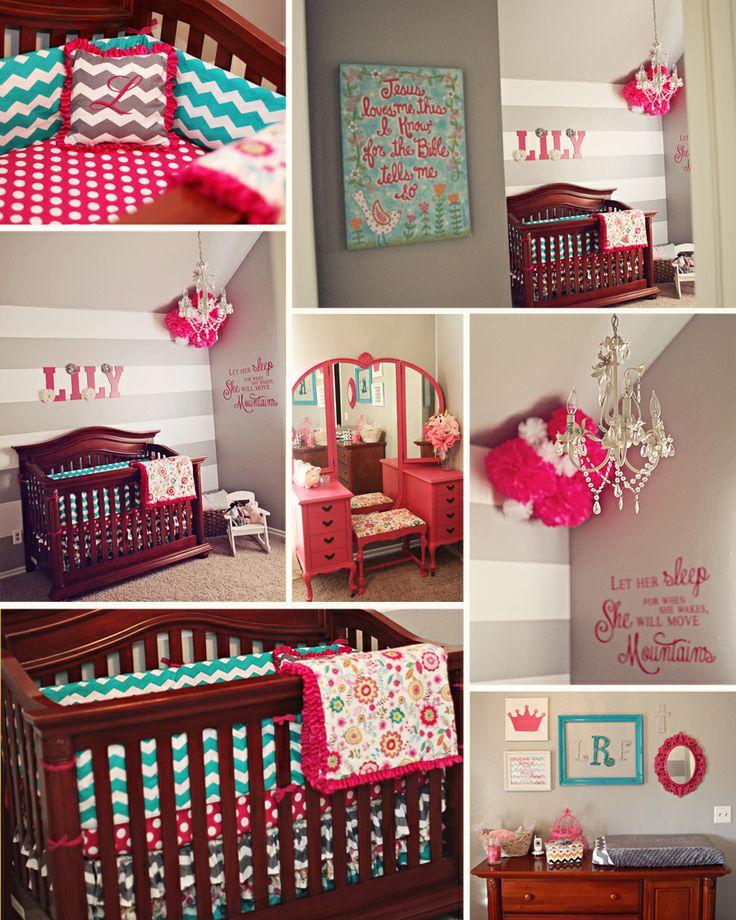 Lily's Room! Baby girl nursery
