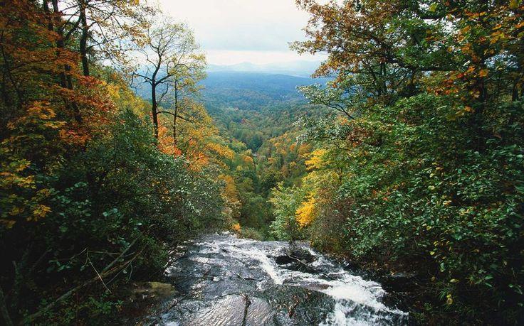 Atlanta: SAVE  Where to Go: Amicalola Falls State Park, Georgia. Distance: 70 miles from Atlanta.