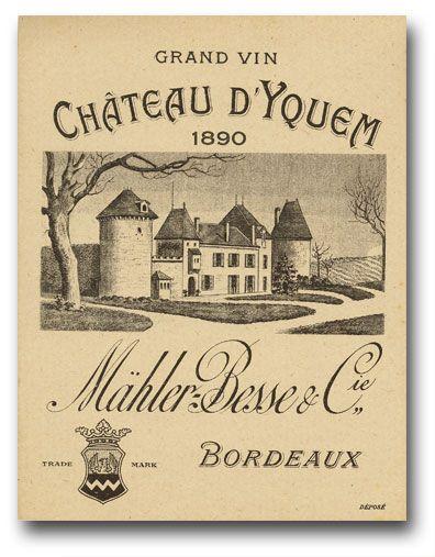Sauternes Chateau Yquem