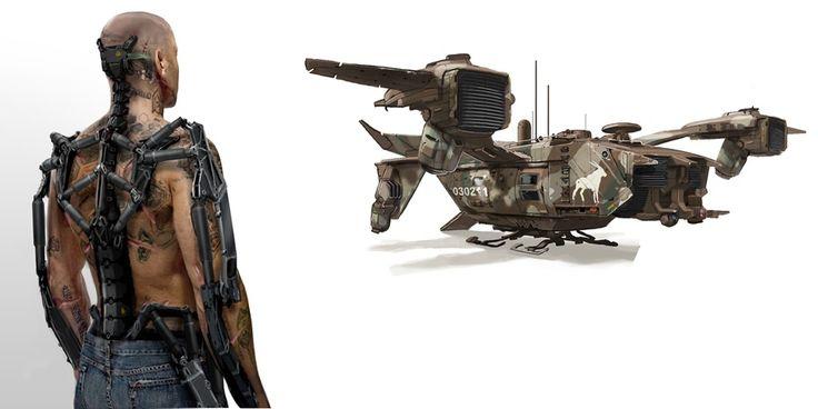 Image Gallery elysium gunships