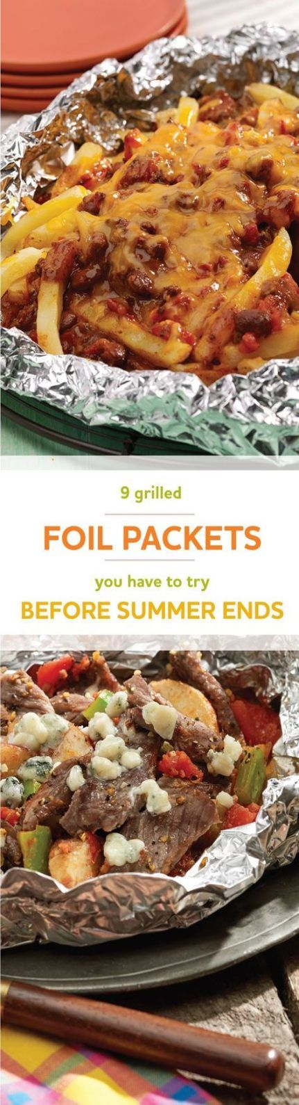 Food Ideas for Camping in Summer Aluminum Packages 36+ Ideas   – {camping}