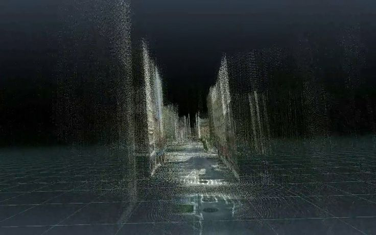 Point Cloud City (video) - Patricio Gonzalez Vivo scraping Google Street View depth map and reconstructing it with openFrameworks