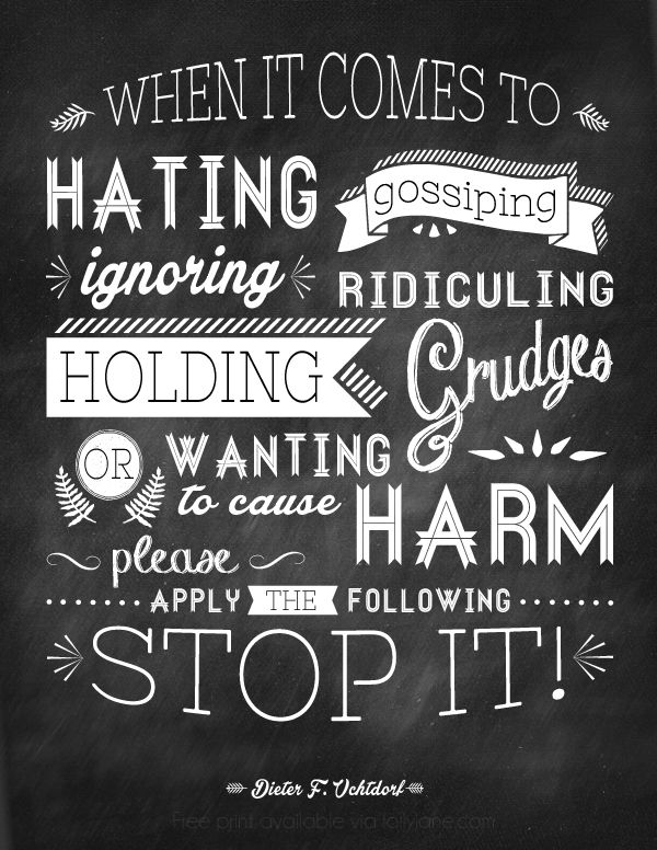 A great quote to remind us to stop being so critical of each other |print via lollyjane.com