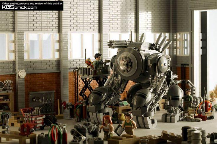 Excelentes criações em LEGO - KOS - Assuntos Criativos