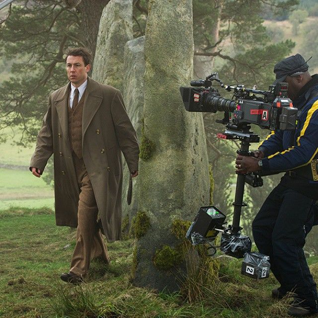 A man on a mission. #OutlanderSeries #STARZ #BehindTheScenes #BTS