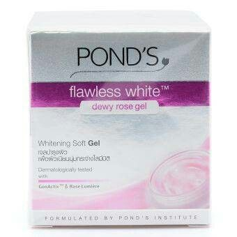 Pond's flawless white dewy rose gel