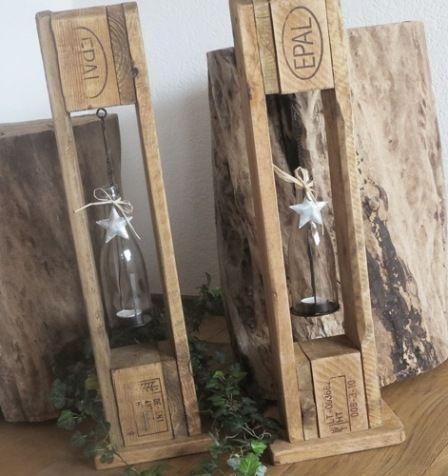 Dekoration mit Kerzen und Paletten! 20 Ideen … Lassen Sie sich inspirieren …… #WoodWorking