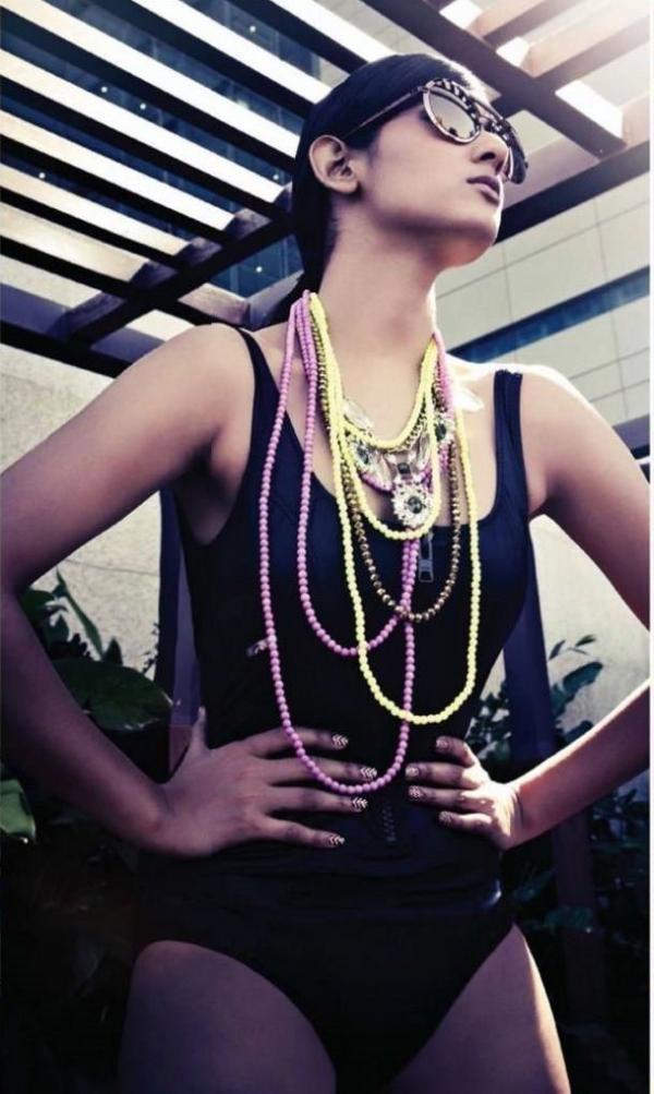 "Bollywood Actress & Model, Sonal Chauhan hot photo-shoot for ""Hello"" Mag 2013."