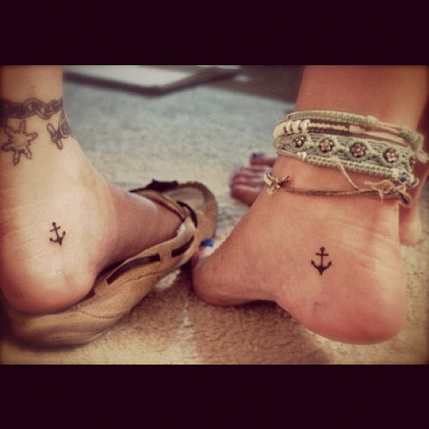 I would love to get this tat with my friend! Sandy!!