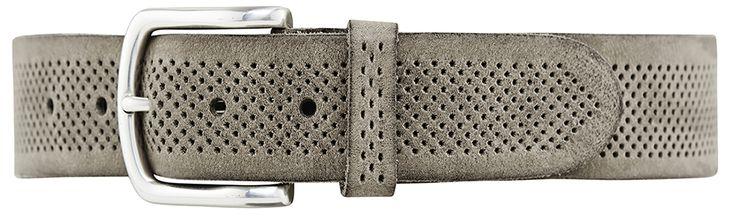 11208 jeans belt, 3,5 cm, winter grey.