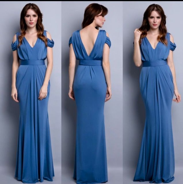 Pia Gladys Perey dress Gretchen. Available to try on in store at Nora & Elle Bridesmaids, Perth.