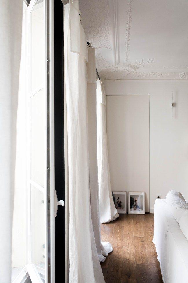 full length linen Curtains
