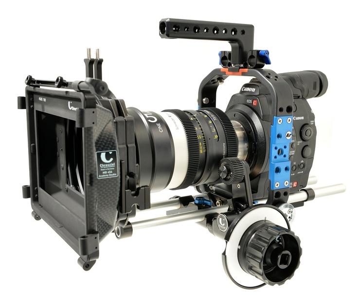 New Canon EOS C300 cage from Chrosziel.
