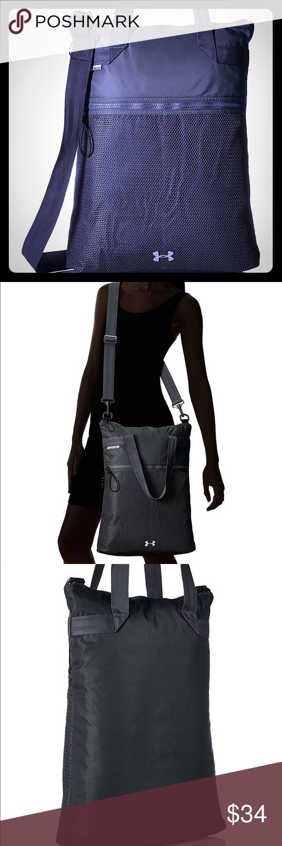 Great under armor ladies bag brand new w/tags nice Perfect size over shoulder under armor bag, not overwhelming size like some gym bags can be. This is a great quality bag, save a good deal of money compared to retail price Under Armour Bags Backpacks