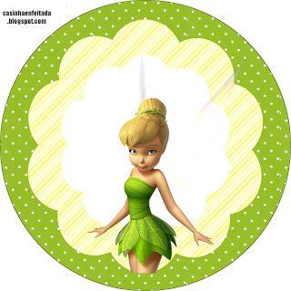 Kit Festa Tinker Bell Para Imprimir Grátis                                                                                                                                                     Mais