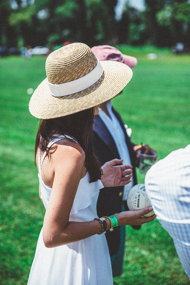 Preparing to throw the first chukka // Victory Cup polo