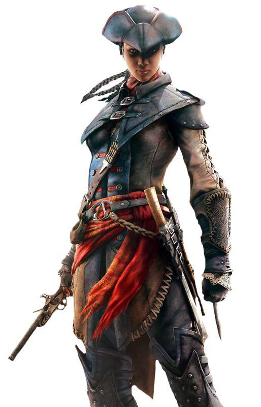 Galerie de personnages : Aveline de Granpré dans Assassin's Creed III: Libération