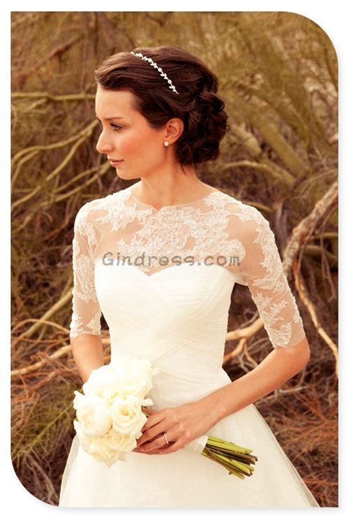 Vintage wedding dress Vintage wedding dresses i would love to have lace all the way up to my neck