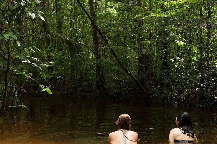 #RMARWanderlust   #Repost @labverde  Lucila Mantovani & Blanca Botero @ LABVERDE 2016. #labverde #artresidence #artnature #art #nature #manaus #bioart #landart #ecoart #immersionprogramme #inpa #amazon #amazonia #manifesta
