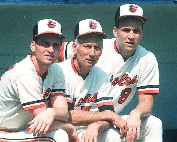 Billy, Cal Sr. and Cal Ripken Jr..