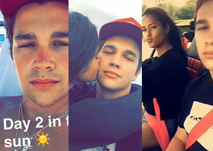 Austin Mahone Newest Snapchat Video Ft Katya Elise Henry And More