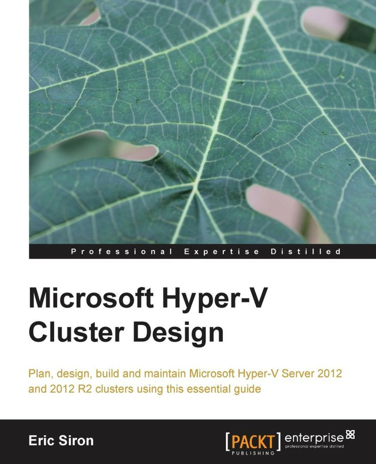 I'm selling Microsoft Hyper-V Cluster Design - $29.00 #onselz