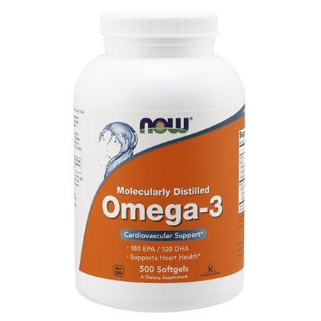 NOW Foods Omega-3 1000mg, 500 Softgel