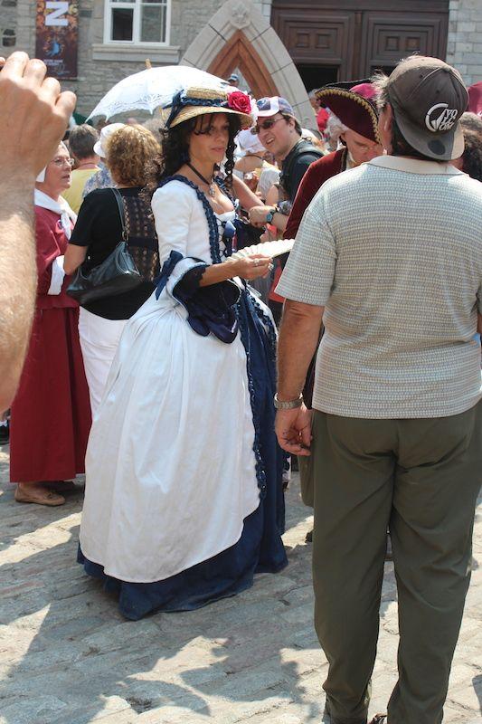 Fêtes de la Nouvelle-France 2014, Québec, QC, Canada