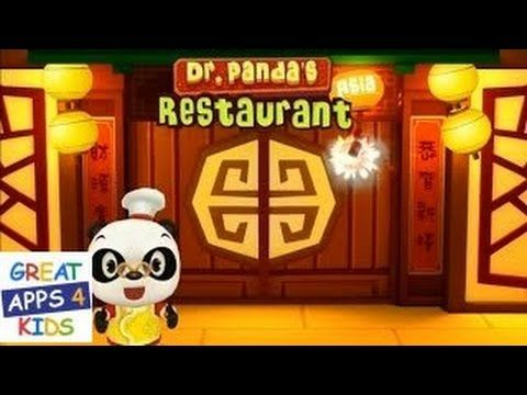 Dr. Panda's Restaurant: Asia   Cooking App for Kids