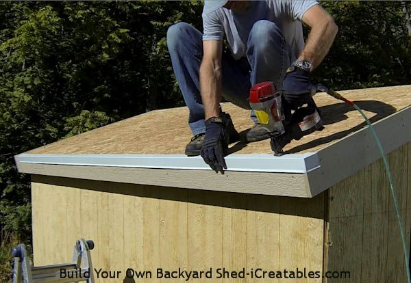 How To Install Asphalt Shingles Roof Drip Edge Sheds