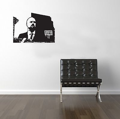 Football Managers Sean Dyche Vinyl Transfer Sticker Decal Wall