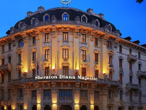 Sheraton Diana Majestic hotel & business center in Milan (Lombardy, Italy)