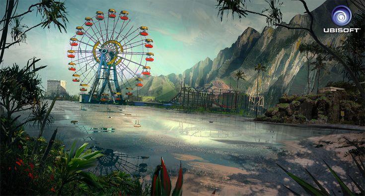 Concept Art for Far Cry 3