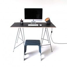 Angle Trestle Table Desk