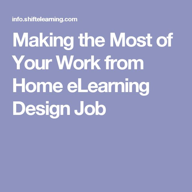 Emejing Work From Home Instructional Design Jobs Gallery ...