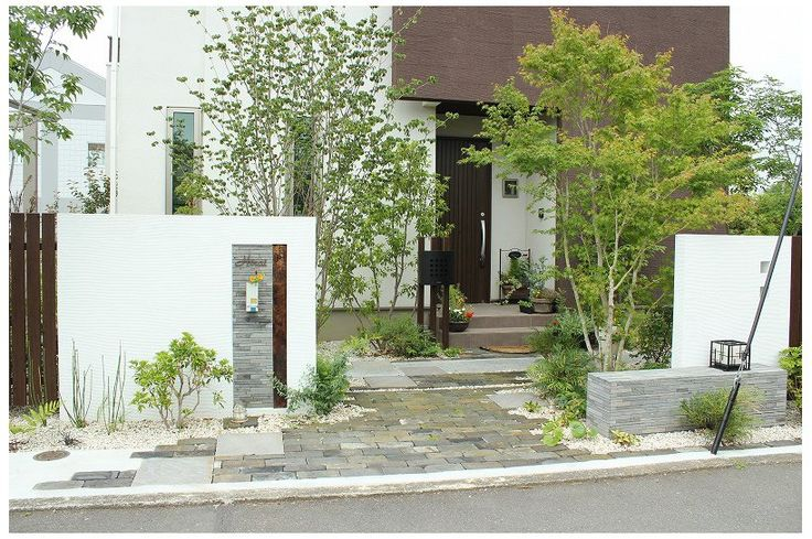 富士市 新緑が美しい緑豊かなアプローチ空間   オープンタイプ   作品集   エクステリア・ガーデニングのことならザ・シーズン 静岡・浜松・沼津