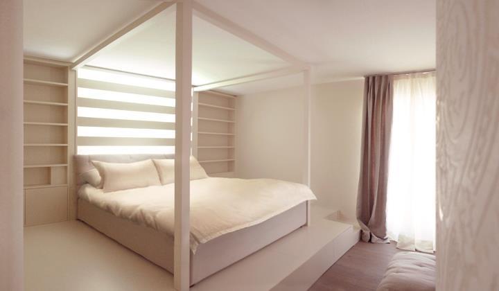 swiss house bedroom