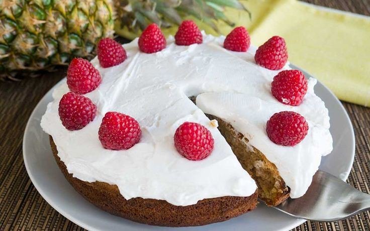 Easy Pineapple Cake With Whipped Coconut Cream [Vegan] | One Green Planet