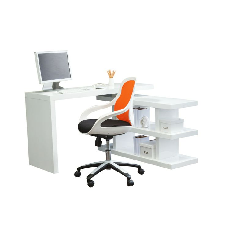 Axis Swivel Desk from Domayne Online $699