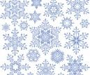 Ornamental snowflake templates vector | Free Stock Vector Art & Illustrations, EPS, AI, SVG, CDR, PSD